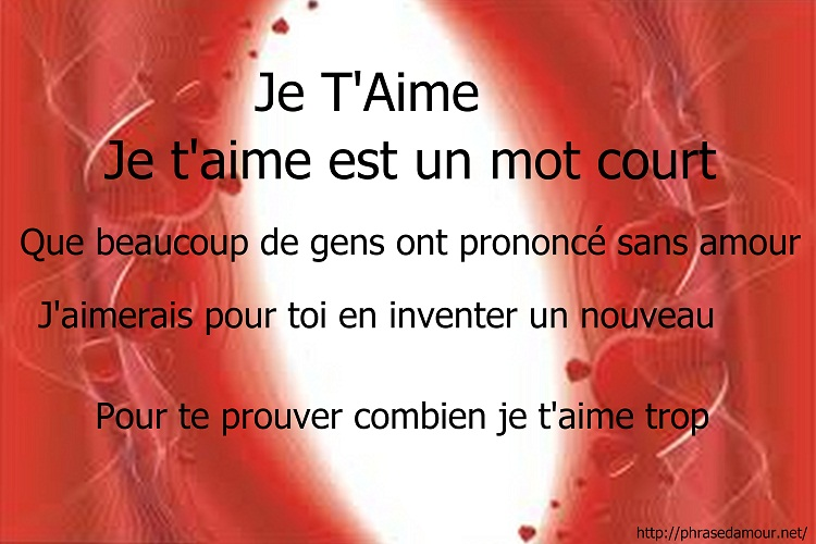 rencontre par internet poeme